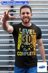 30 geburtstag mann geschenk gamer level 30