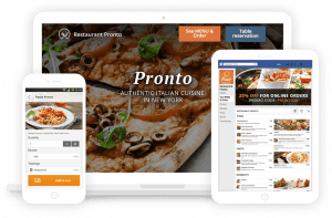 online ordering system multi device
