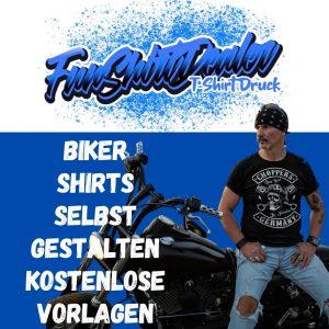 coole Biker T-Shirts selbst gestalten